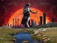 2006 - The Crosswalk Lady - Digital Collage