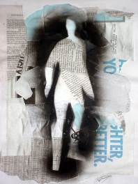 2004 - Among Ghost Men - Traditional Collage