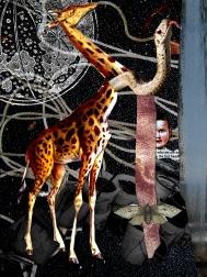 2006 - To Hoist Myself - Digital Collage