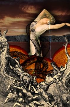 2009 - Crying Venus - Digital Collage